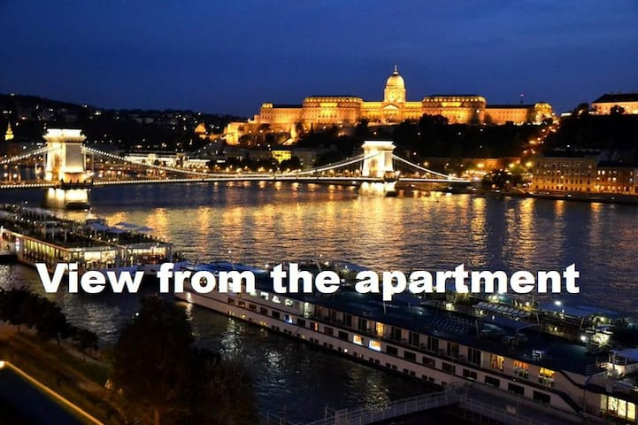 Full Danube- Castle Panorama II.  - Budapest - Apartment