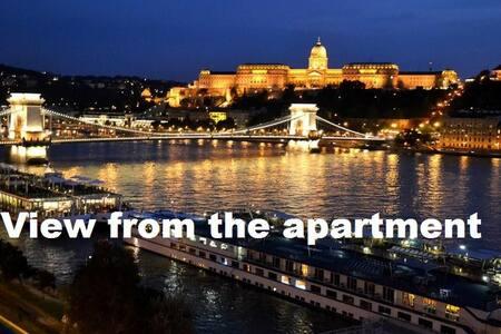 Full Danube- Castle Panorama II.  - 布达佩斯 - 公寓