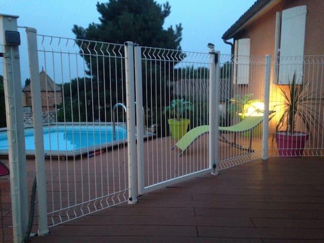Agréable maison aux portes du Gers