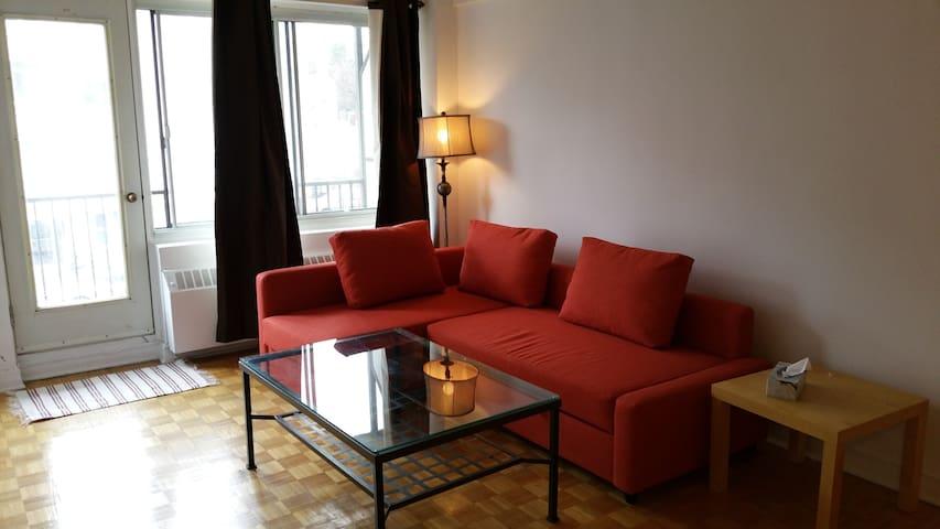 Cosy and Practical - Montréal - Apartemen