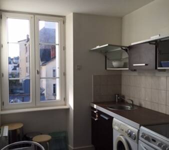 Studio flat with separated kitchen - Rennes