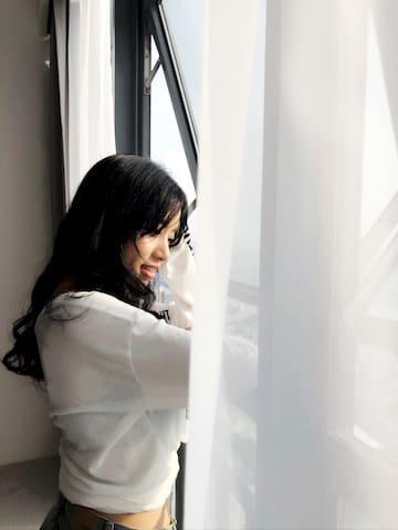 【等于贰·筑云舍】市中心高层一线江景落地窗公寓,柳州景色一览无遗,距离火车站10分钟车程,商食中心