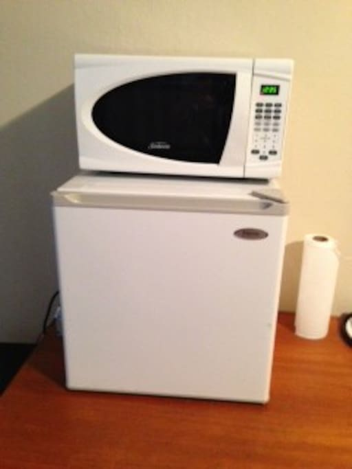 your own microwave and fried in your private room