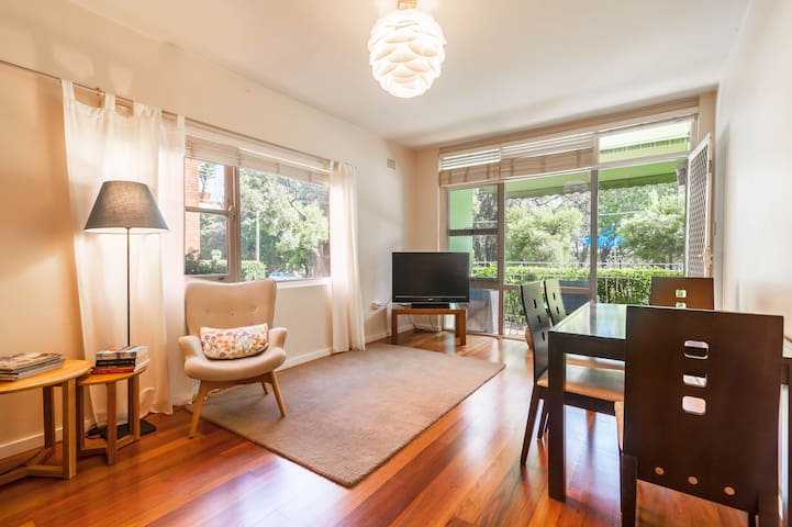 Sydney, Inner West 2BR, Balcony & Park Views