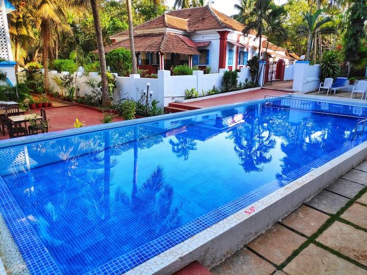 Party Street Villa near Tito's Lane & Baga Beach 1