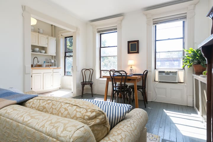 Charming, Airy 2 Bedroom Brownstone in Bed-Stuy