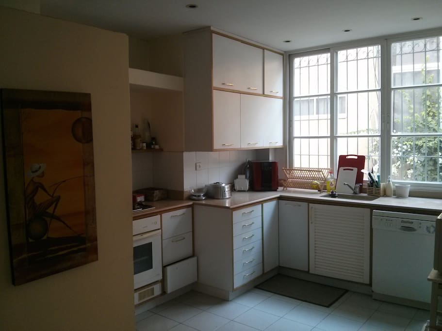 Comfortable and equiped kitchen