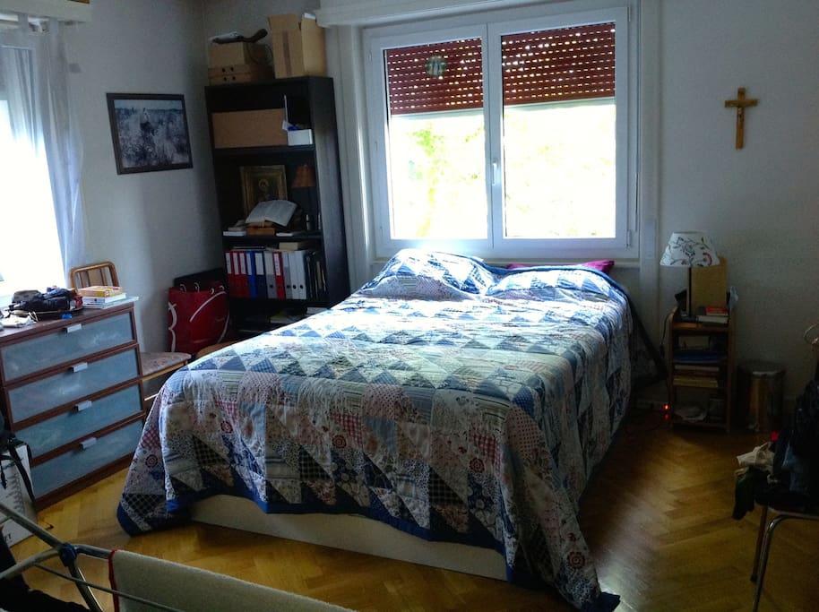 Main Bedroom.  plenty of room