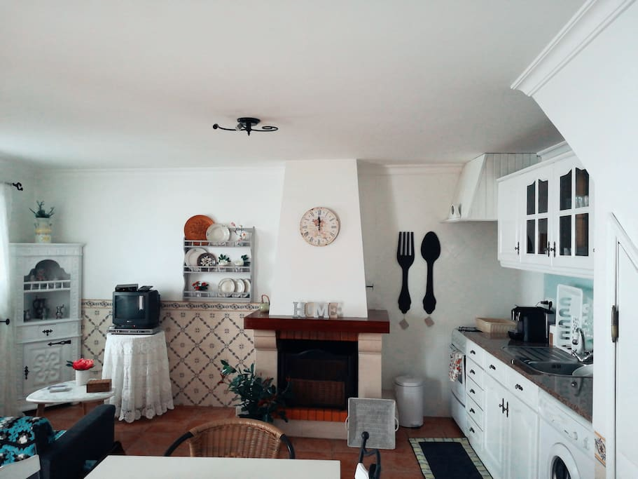 Sala e kitchenette