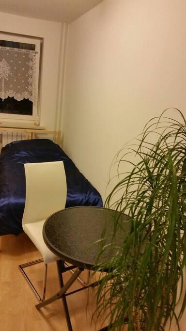 Nur ein kleiner Ausschnitt vom Gästezimmer (Zimmer 1 mit Doppelbett).