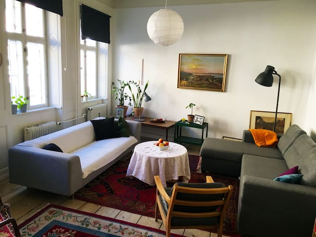Central and unique flat in old fashion style