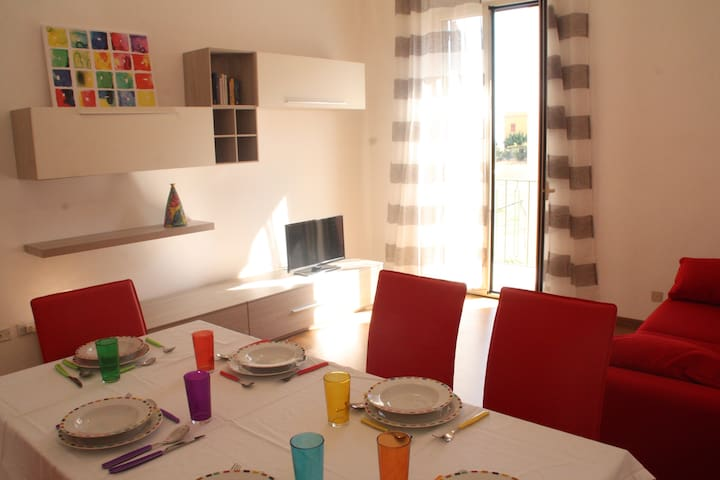 800mt to the Valley of the Temples and Town center - Agrigento - Apartamento