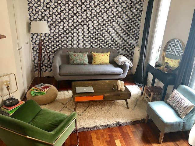 Bel appartement en plein cœur de Paris-Batignolles