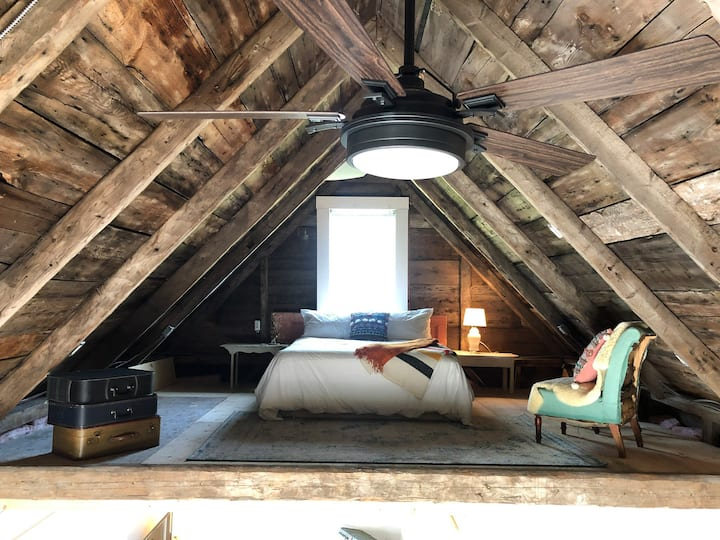 The Douglas Barn - a loft with a view