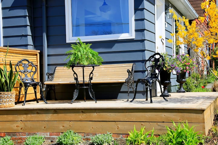 Sunny Front Deck
