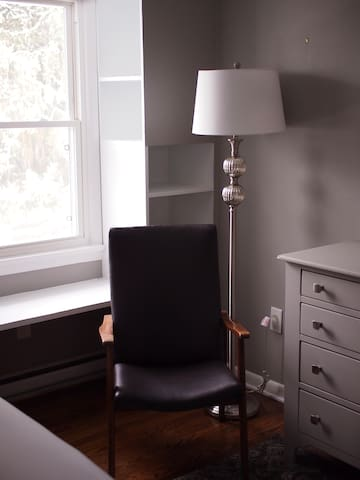 the gray room-- the sitting area