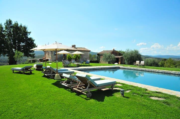 LA PIGNA charming contryside villa - Monteroni D'arbia - Dom