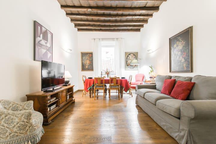Appartamento Elegante Vicino a Vaticano e Piazza Navona