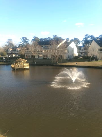 Charming Lakefront Myrtle Beach 1Br Condo
