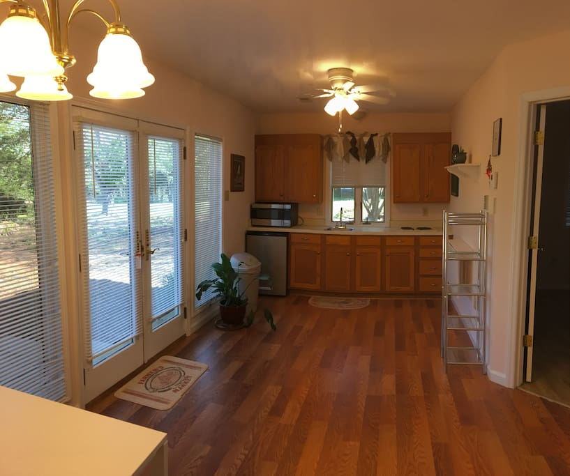 Spacious Efficiency Kitchen