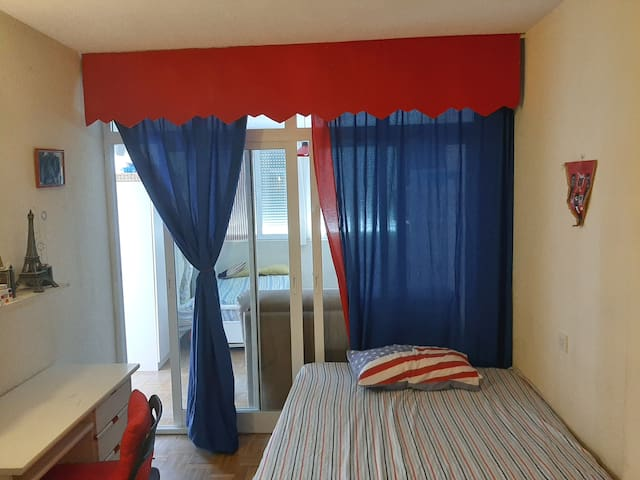 ¡¡Double Room!! with Terrace and Private Bathroom.