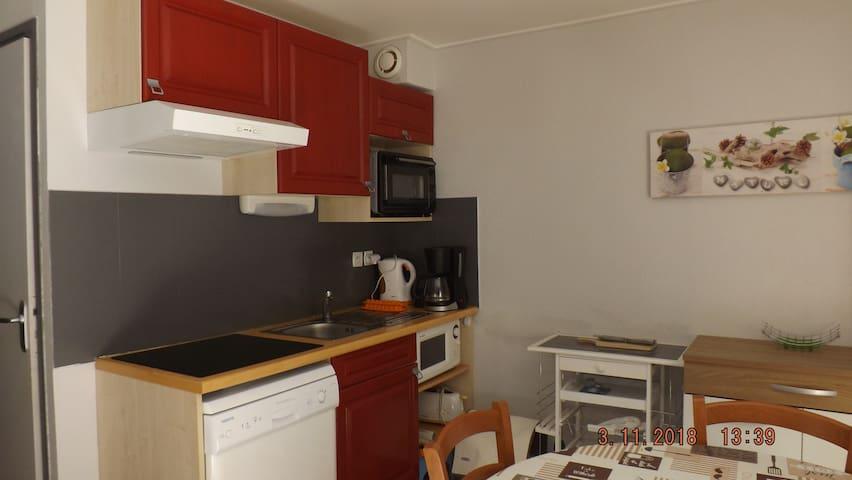Appartement T2 4 couchages rez de chaussée