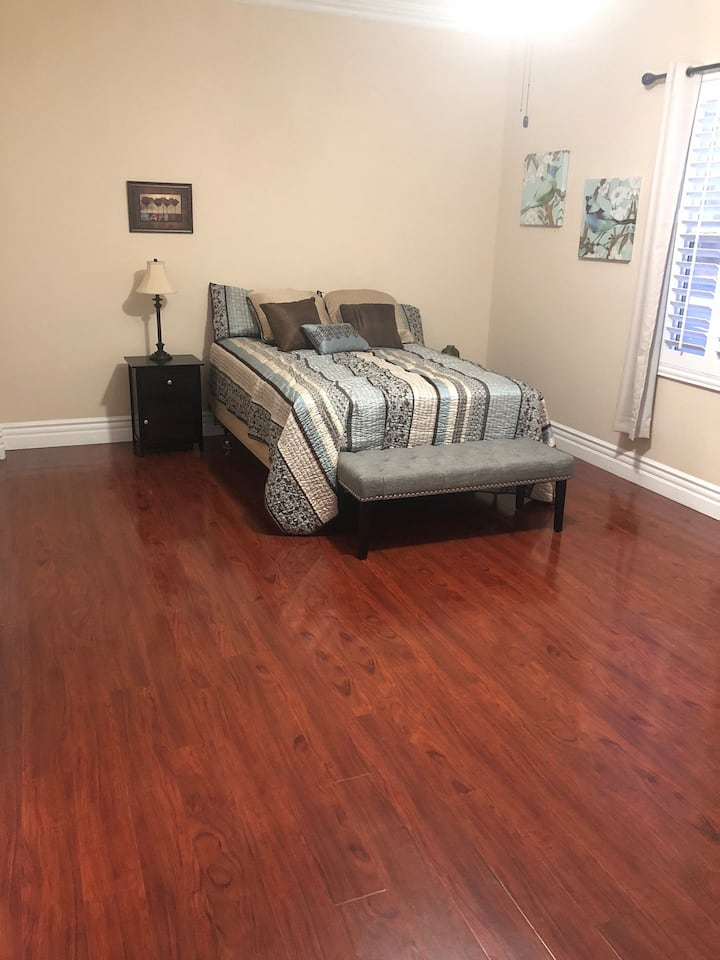 NEW LISTING!! Work at home perfect master Bedroom.