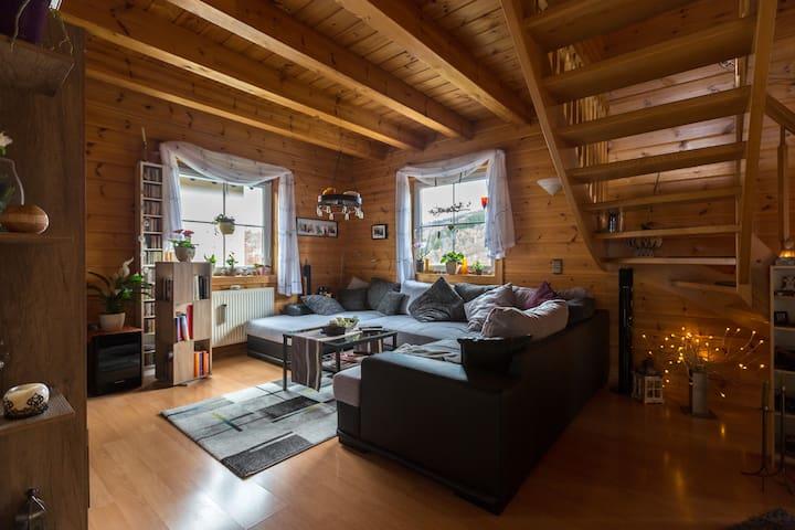 Finnisches Holzhaus - Gummersbach - Casa