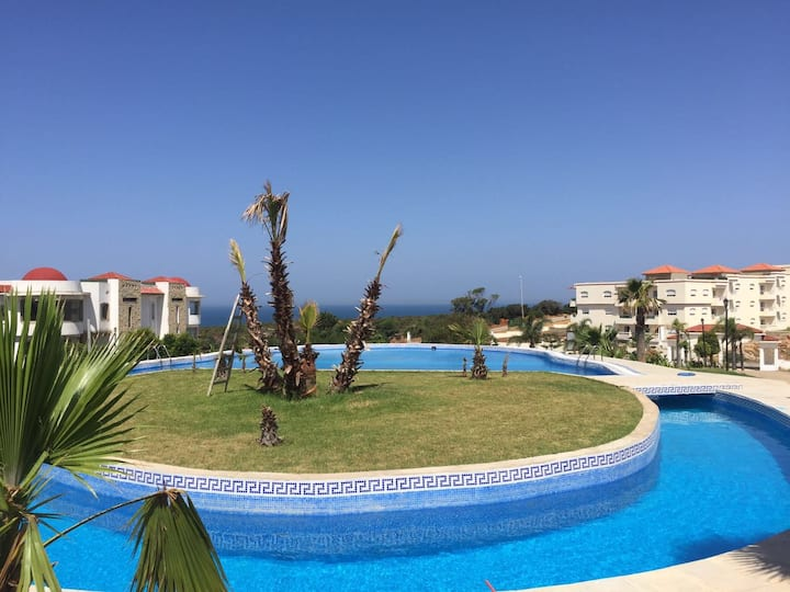 Apartment with stunning sea view in Tangier
