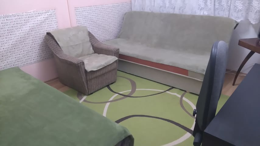 Utulny pokoj pro 2 osoby v Praze