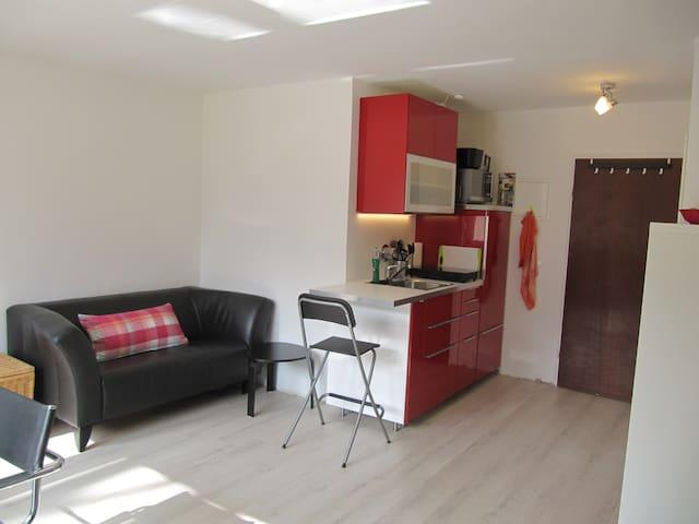 Quiet & modern studio in Schwabing - München - Appartement