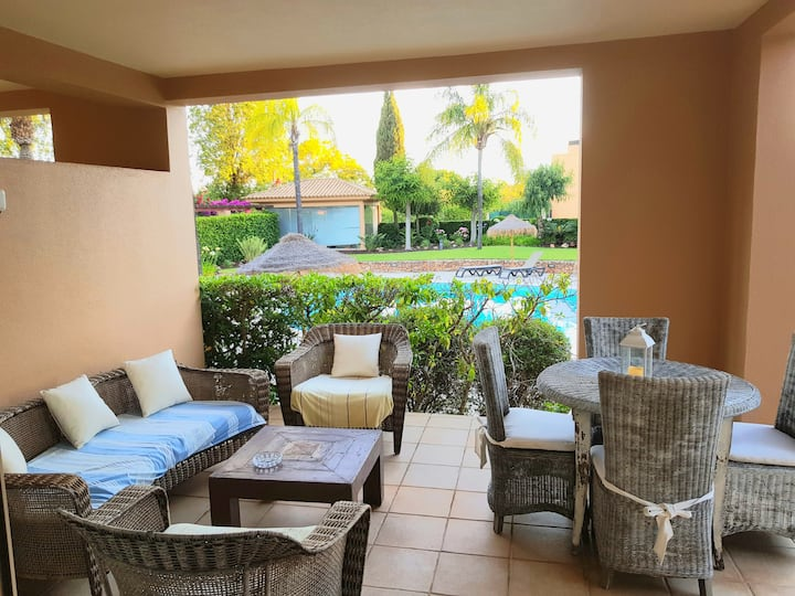 Clean & Safe Villa Vilamoura, piscina, relax, Golf