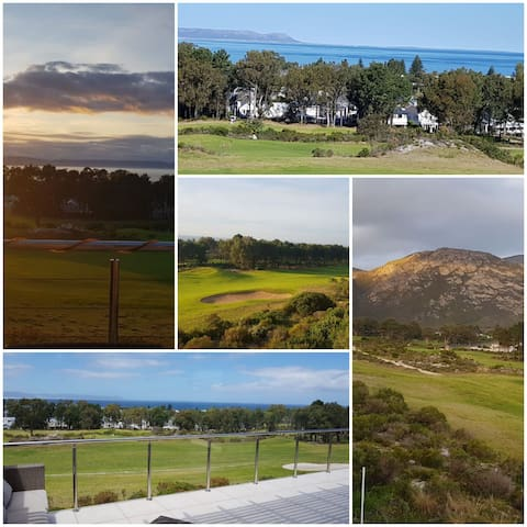 Secure exquisite views on Hermanus Golf course