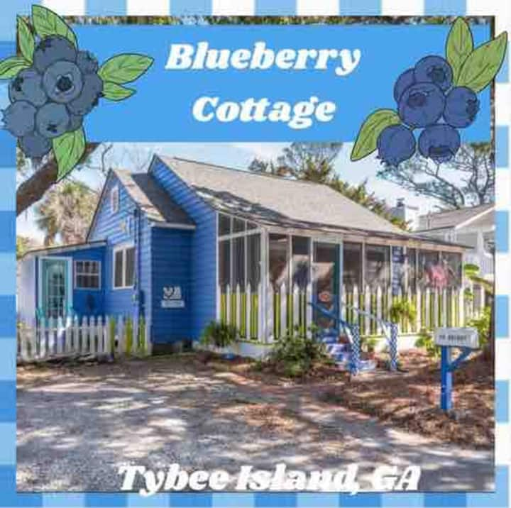 Blueberry Cottage, Vintage, Funky, Work at beach