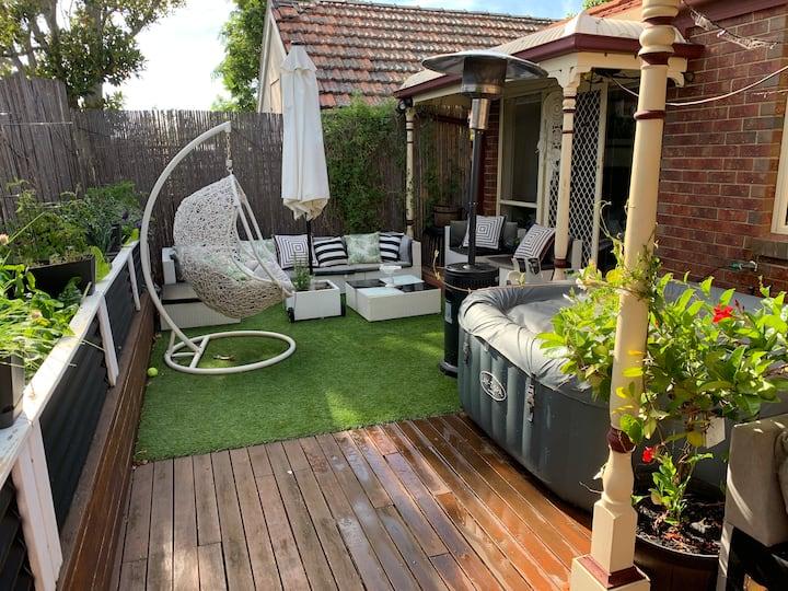 Comfortable designer decorated home