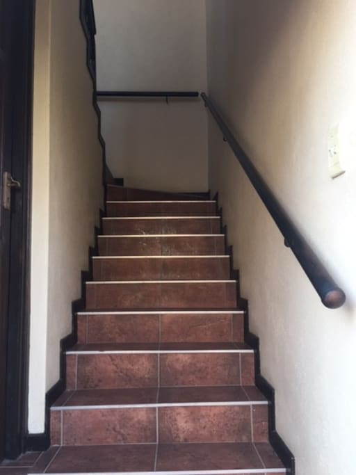 Stairs from ground floor