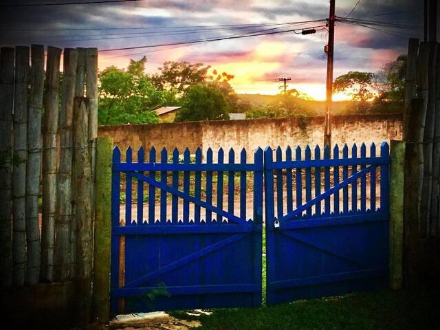 Lugar de Suyan em Olhos d'Água em Goiás