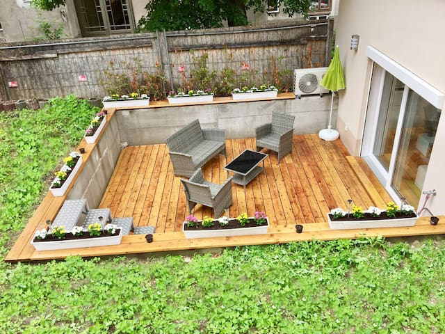 Central  Sweet  Home - Duplex & Garden and Terrace