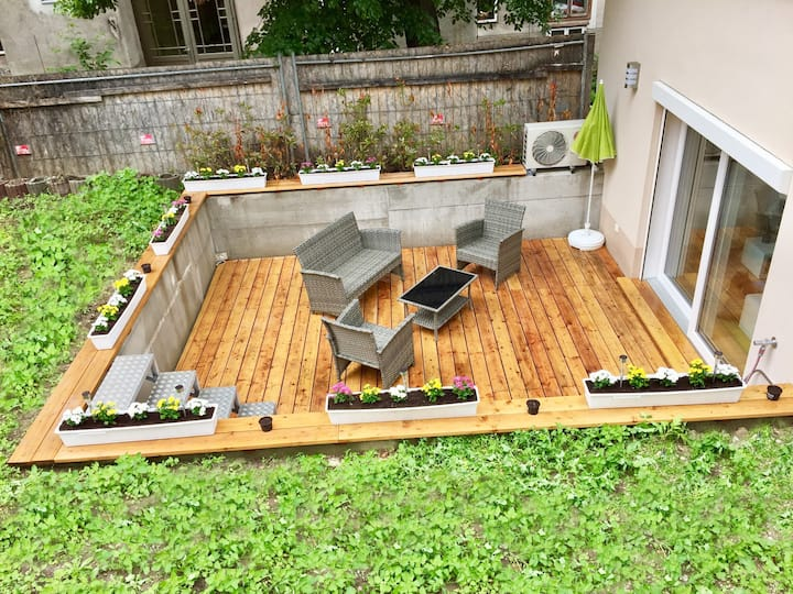 Central  Sweet  Home - Duplex & Garden and Terrace