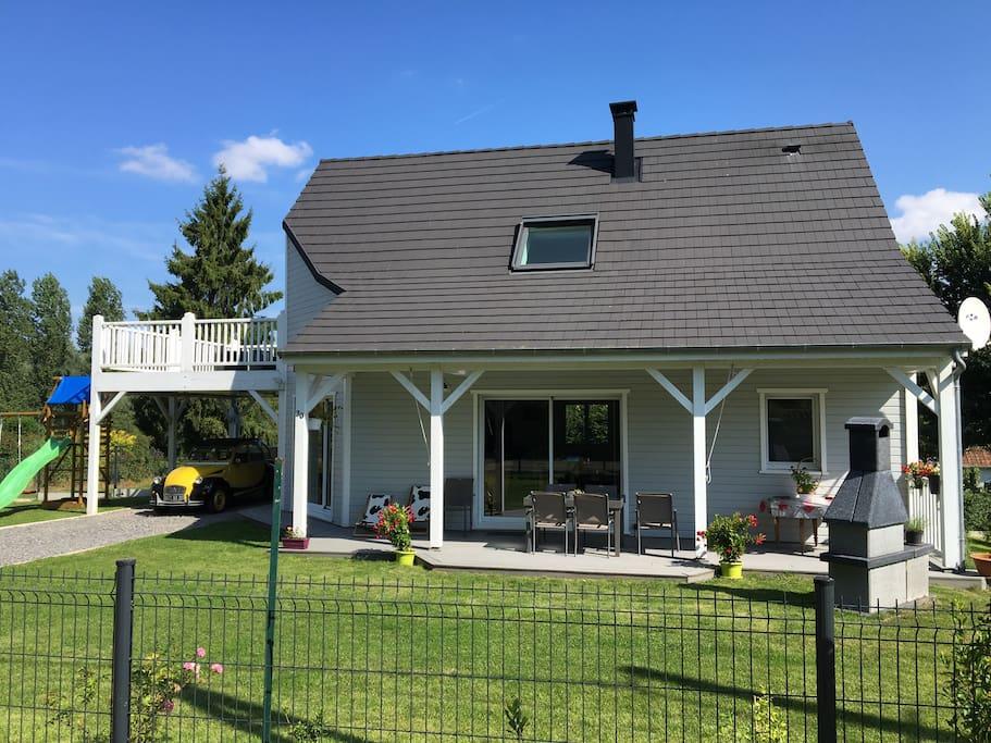 Confort et calme prox baie de somme villas louer for Baie de somme location maison