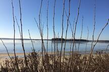Winter Beach, Winslow Park