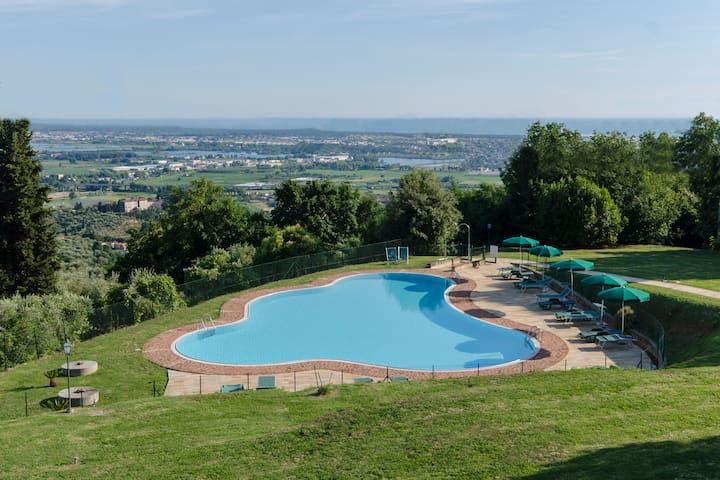 Frantoio di Corsanico - Apt with shared pool - Corsanico - Pis