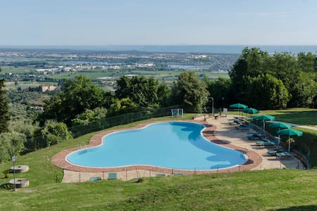 Frantoio di Corsanico - Apt with shared pool - Corsanico