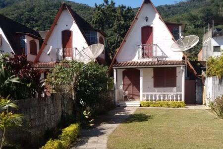 Chalé Rústico e Aconchegante em Mangaratiba