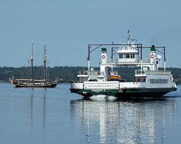 Amherst Island Ferry at our Doorstep