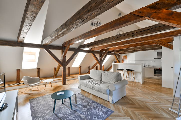 Quiet Loft at Prague Castle