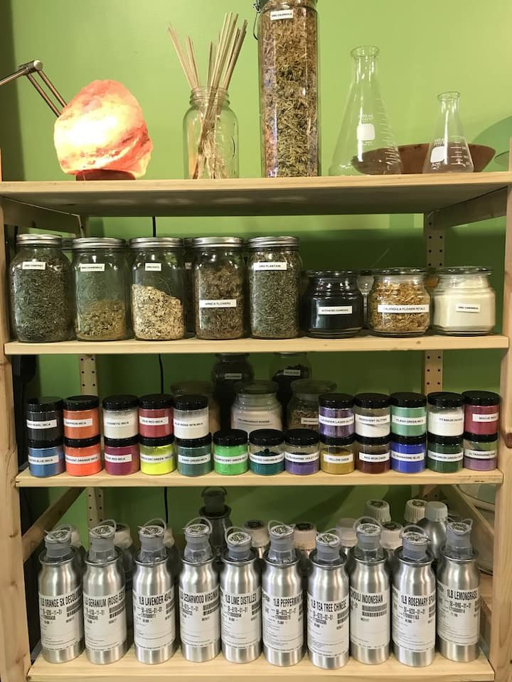 Herbs, Colorants, Essential oils