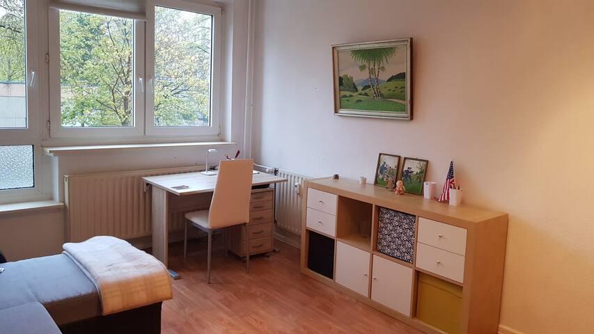 Zentral gelegene kleine Wohnung in Leipzig