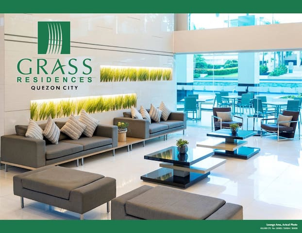 1-Bedroom Spacious Condominium at Grass Residences - Quezon City - Condominium