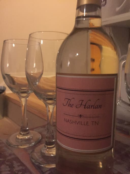 A bottle of wine for you from The Harlan